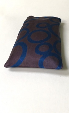 Eye Pillow Retro O - Deep Purple