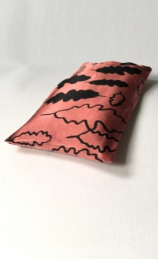 Eye Pillow Oak Leaf - Classic Pink