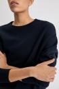 FilippaK Double Knit Sweater - Night Sky - 3