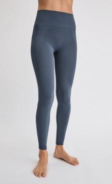 Filippa K High Seamless Leggings - Misty Blue