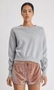 FilippaK Double Knit Sweater - Light Grey Marl - 1