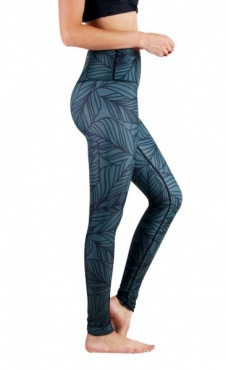 Urban Camo Yoga Leggings- Forest