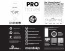 Almost Perfect PRO Travel Mat Manduka - Indulge - 3