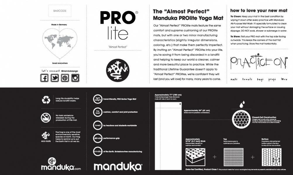 Manduka THE Almost Perfect PRO - Verve - 4