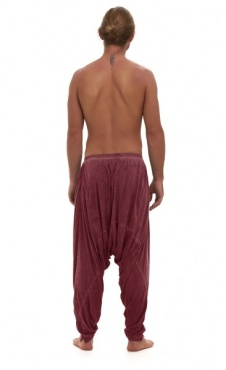 Ashram Pants Stone Wash Wine