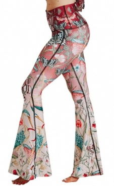 Recycled Bell Bottoms Pretty in Pink