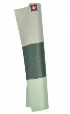 Manduka eKO Travel Mat Green Ash Stripe
