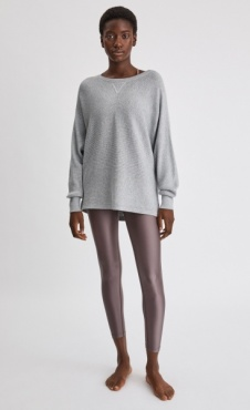 Filippa K Warm Up Sweater Light Grey
