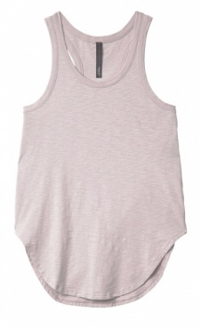 10Days Tank Top Slub Jersey Zinc