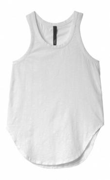 10Days Tank Top Slub Jersey White