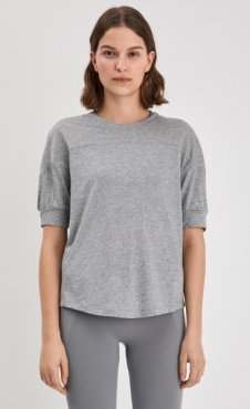 Filippa K Soft T-shirt Grey Marl