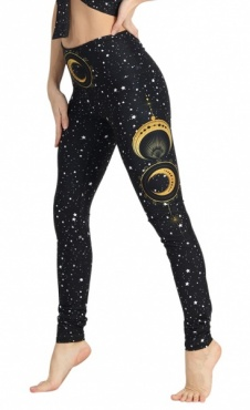 Fortune Teller Recycled Yoga Leggings