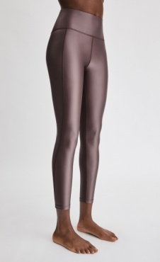 FilippaK Cropped Gloss Legging - Mauve