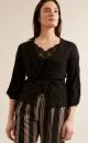 Diamond Knit Cardigan Black - 1