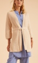 Lanius Knitted Cardigan - Shell - 4