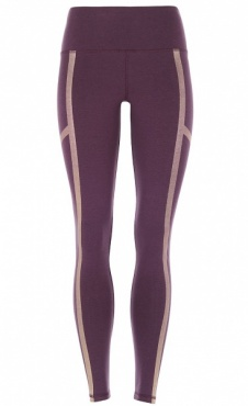 Punched Leggings Golden - Universum