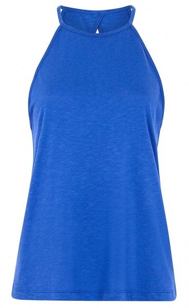 Neckholder Top - Lapis Blue