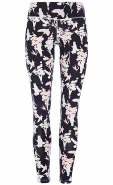 Natural Printed Legging Secret Garden