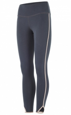 Cropped Yoga Tights - Stone