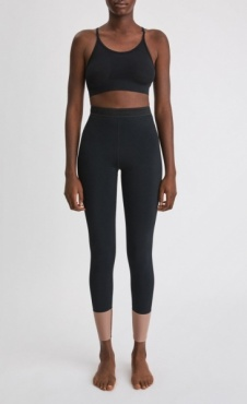Filippa k 2-Tone Legging Black/ Tan