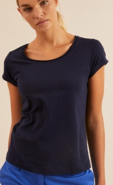 Lanius Organic Tee - Night Blue