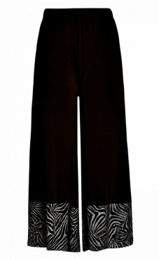 Sula Wide Leg Pants - Black