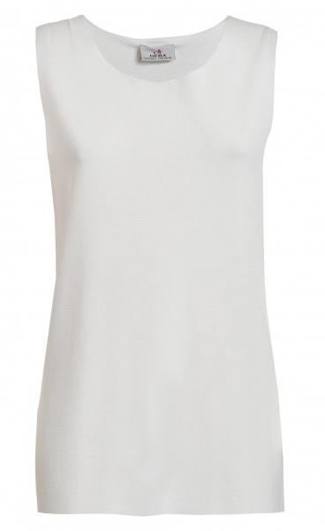 Punto Knit Tank - Milk White