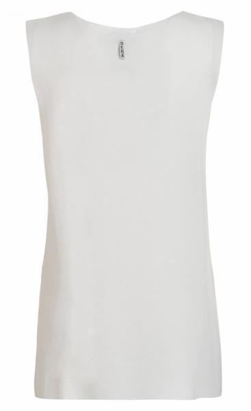 Punto Knit Tank - Milk White - 1