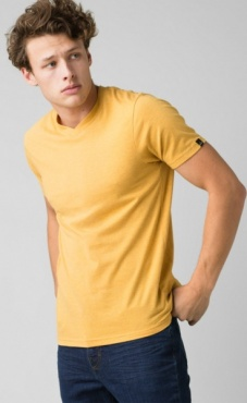 PrAna V-Neck - Marigold Heather