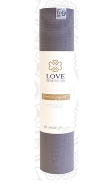 Premium LG Yogamat Englightening Grey