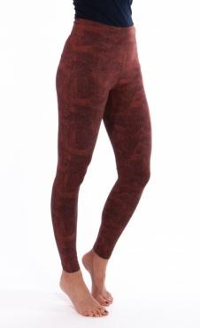 Lilly Coral Print Yoga Leggings