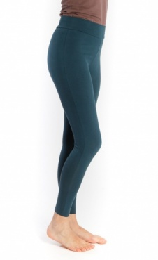 Lilly Basic Yoga Leggings - Sea Blue