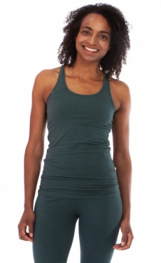 Racer back Yoga Top - Hope Green