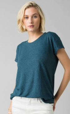 PrAna Cozy Up Tee - Atlantic