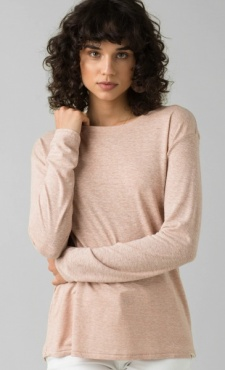 PrAna Cozy Up Longsleeve - Champagne Heather