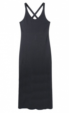 10Days Wrapper Dress - Dark blue/grey