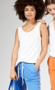 !0Days Linen Top - Dark Blue-grey - 2
