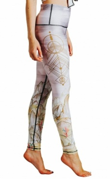 Monsoon Medley Recycled Yoga Leggings