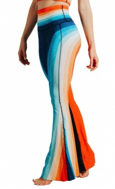 Recyceld Bell Bottoms Retro Rainbow