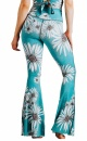 Recycled Bell Bottoms Flower Child - 3