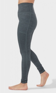 Essential Pocket Legging Green Ivy Melange