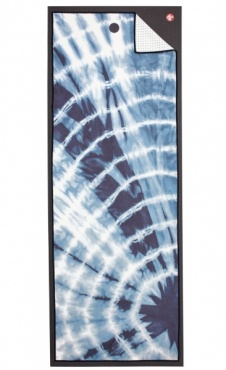 Tie Dye Navy Yogitoes Yoga Towel