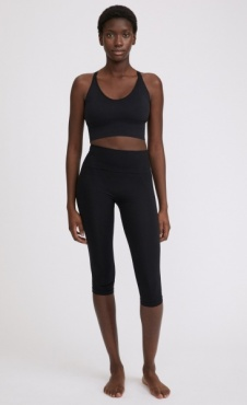 Filippa K Cropped Seamless Legging Black