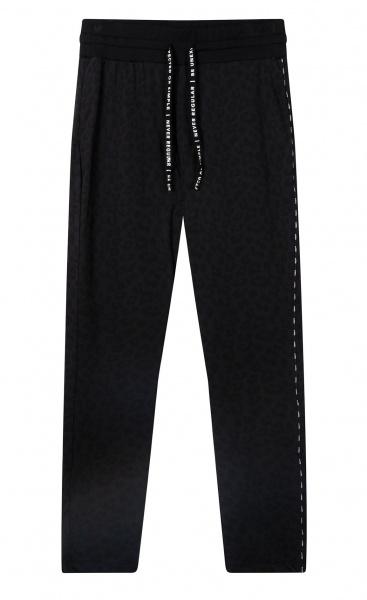 10Days Banana Pants / Relaxed Leggings Leopard Black