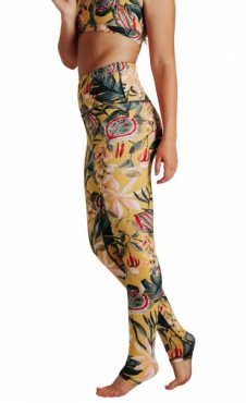 Curry Up Recyceld Yoga Leggings
