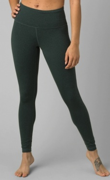 prAna Transform High Waist Legging - Jadeite Heather