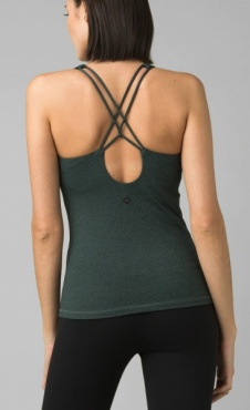 PrAna Everyday Support Top - Jadeite Heather