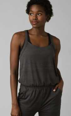 Inigma Jumpsuit - Charcoal