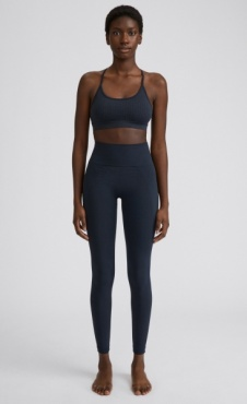 Filippa K High Seamless Leggings - Coal