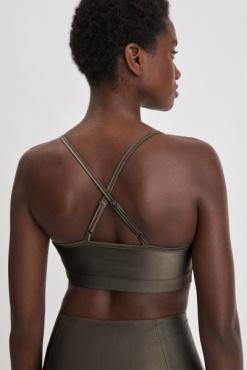 Filippa K  Gloss Bra Top - Olive